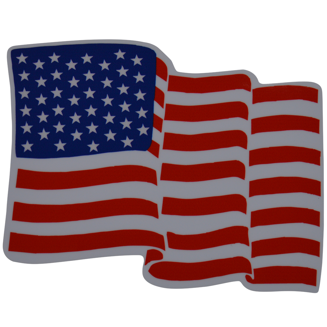American Flag Decal 90 S Boats Nautique Parts