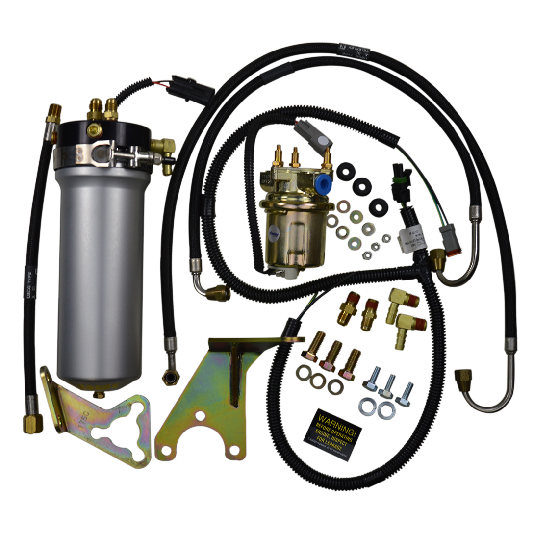 fuel pump fcc retrofit kit nautique parts 1970 Shell Gas Pump