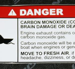 Engine Warning Labels O Scale Decals